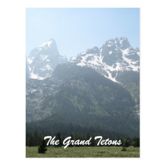 The Grand Tetons Postcard