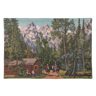 The Grand Tetons - Wyoming Placemat