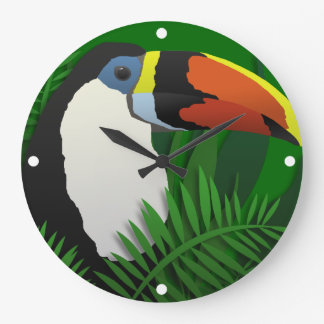 The Grand Toucan Large Clock