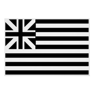 The Grand Union Flag Poster