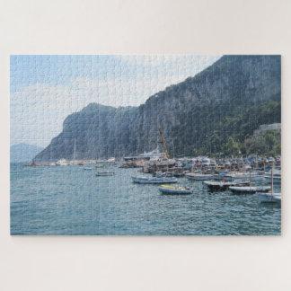 The Grande Marina at Capri, Italy 1000+ Pieces Jigsaw Puzzle