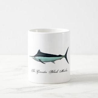 The Grander Black Marlin Magic Mug