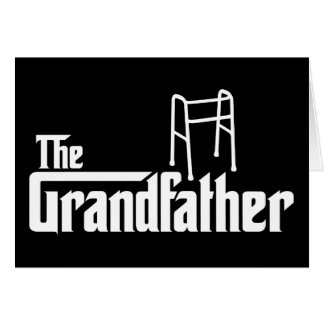 The Grandfather Greeting Card