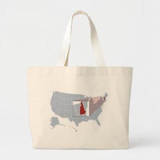 The Granite State Large Tote Bag