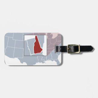 The Granite State Luggage Tag