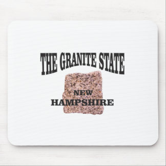 The granite state NH Mouse Pad