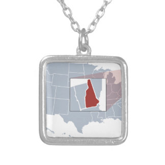 The Granite State Silver Plated Necklace