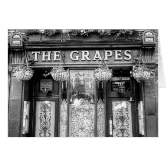 The Grapes Pub London Card