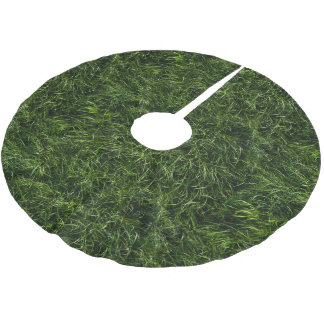 The Grass is Always Greener Christmas Tree Skirt