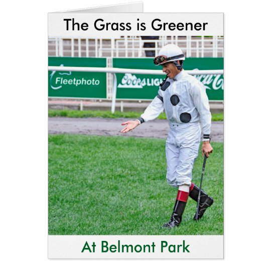 The Grass is Greener Card