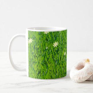 The grass is greener mug