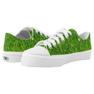 The Grass is Greener Printed Shoes