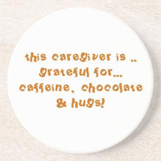 """The Grateful Caregiver Coaster"" Coaster"