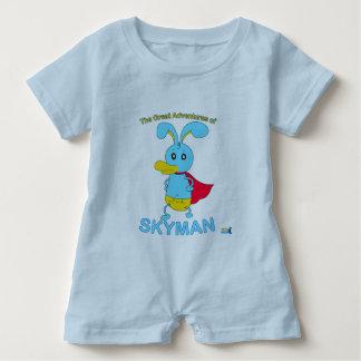 The Great Adventures of SKYMAN Baby Romper Baby Bodysuit