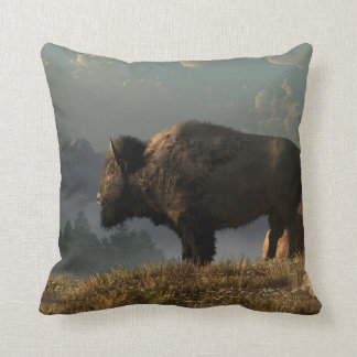 The Great American Bison Cushion