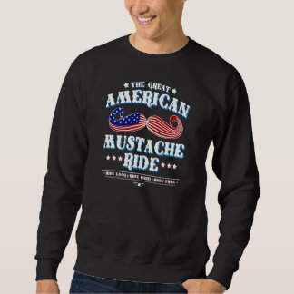 The Great American Mustache Ride Sweatshirt