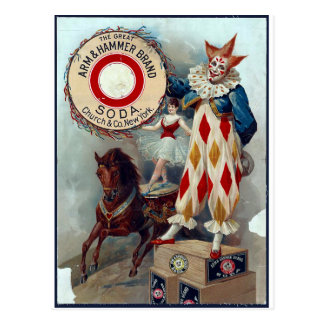The Great Arm & Hammer Brand Soda Postcard
