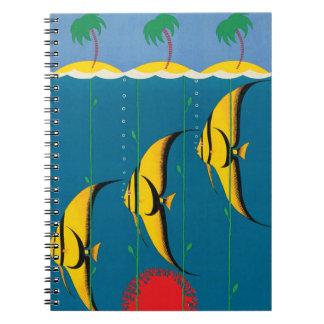 The Great Barrier Reef Australia Spiral Notebook
