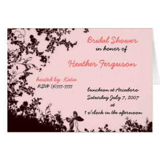 the great bridal shower card