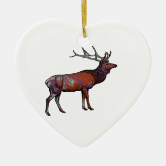 THE GREAT BUGLER CERAMIC HEART DECORATION