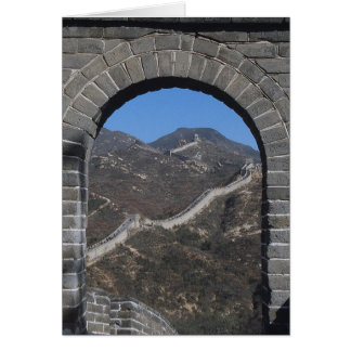 The Great Chinese Wall Card