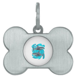 The Great Circle Pet ID Tag
