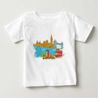 The Great City Of Lodon Baby T-Shirt