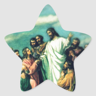 The Great Commission Star Sticker