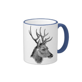 The great deer buck mug