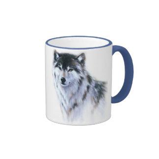 The great fierce wolf in all glory coffee mug