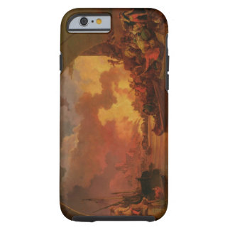 The Great Fire of London, c.1797 (oil on canvas) Tough iPhone 6 Case