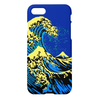 The Great Hokusai Wave in Pop Art Style Decor iPhone 7 Case