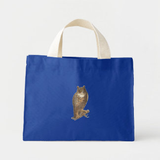 The Great Horned Owl (Bubo virginianus) Tote Bag