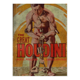 The Great Houdini postcard