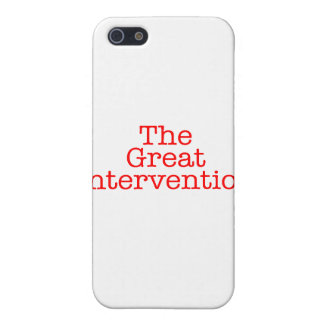 The Great Intervention iPhone 5 Case