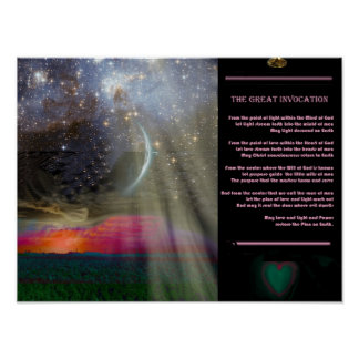 The Great Invocation Posters