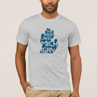 The Great Lakes Michigan T-Shirt