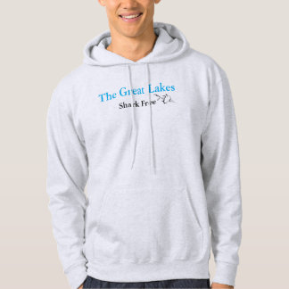 The Great Lakes - shark free Hoodie