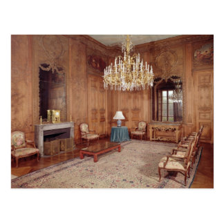 The Great Lounge with woodwork Postcard