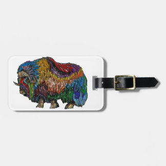 THE GREAT MUSKOX LUGGAGE TAG