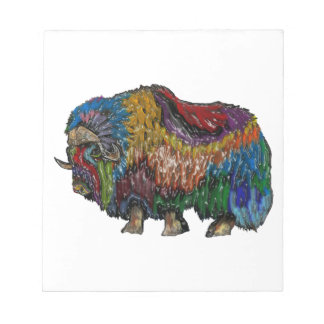 THE GREAT MUSKOX NOTEPAD