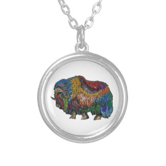 THE GREAT MUSKOX SILVER PLATED NECKLACE