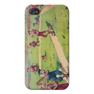 The Great National Game Last Match of the Season iPhone 4 Cover