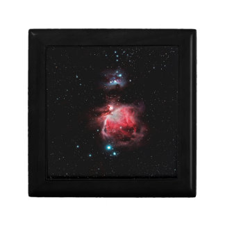 The Great Nebula in Orion Small Square Gift Box