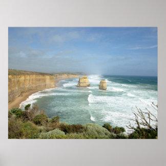 The Great Ocean Road, Victoria, Australia Poster