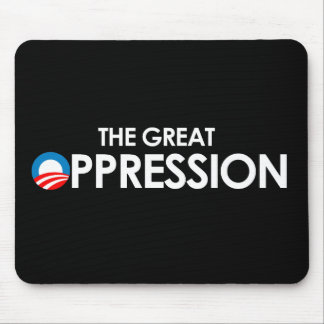 The Great Oppression white Mouse Pads