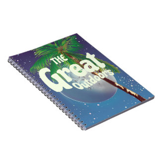 The Great Outdoors Palm and Moon Notebook