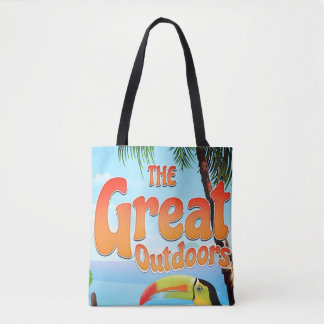 The Great Outdoors Toucan Tote Bag