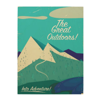 The Great Outdoors vintage poster
