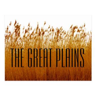 The Great Plains Postcard
